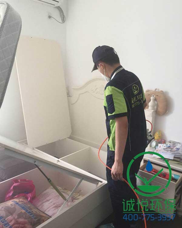 黄埔文冲安置房新房装修除甲醛案例