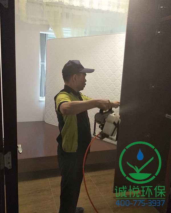 番禺洛溪新城新房装修除甲醛案例