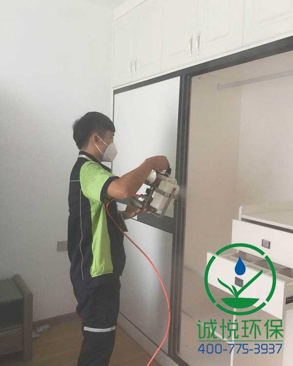 广州增城中坚豪庭新房装修除甲醛案例