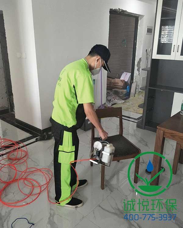 广州增城雅居乐御宾府新房装修除甲醛案例