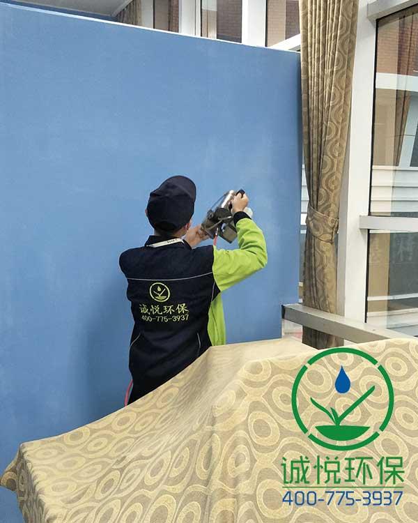 广州市越秀区少年儿童业余体校办公室除甲醛案例