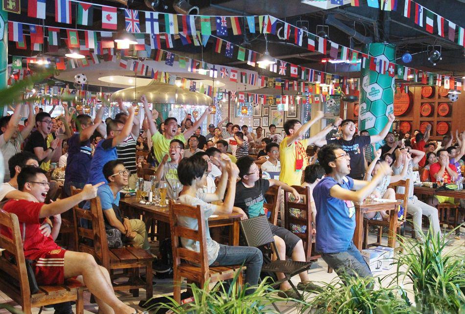 世界杯的中国元素,只差国足