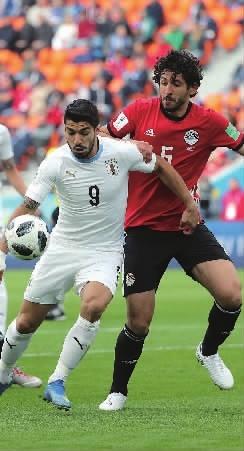 乌拉圭1∶0绝杀,萨拉赫身伤之外又添心伤