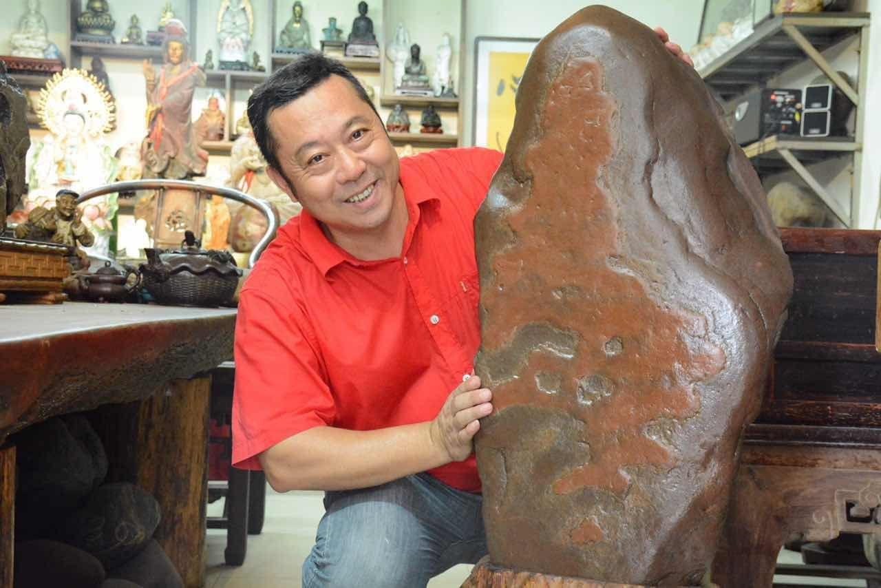 """用""""石头的语言""""庆祝新中国69周年华诞"""