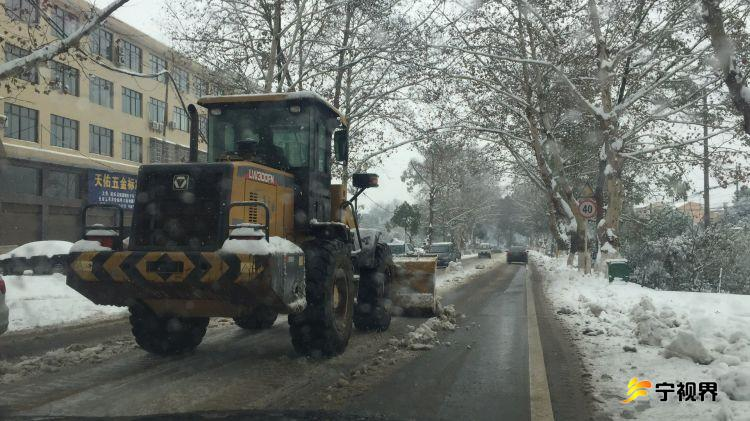 迎战冰雪丨宁乡市公路局积极应对雨雪冰冻天气 确保公路安全畅通