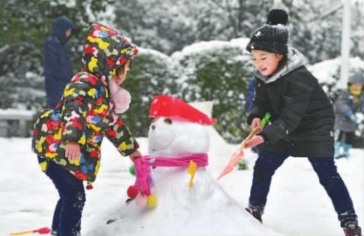 迎战冰雪 | 湖南70县市出现积雪  益阳南县最大积雪深度达20厘米