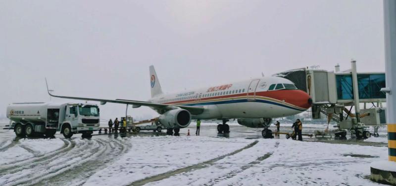 迎战冰雪 | 张家界机场航班起降正常,无航班取消