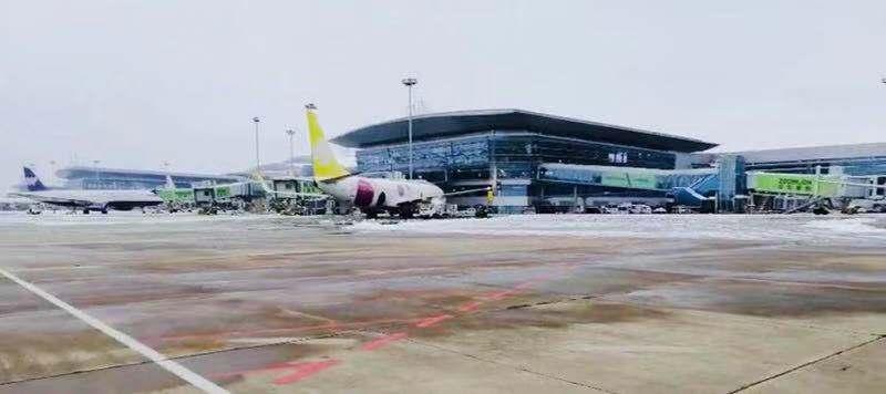 迎战冰雪 | 长沙机场解除除冰雪蓝色预警