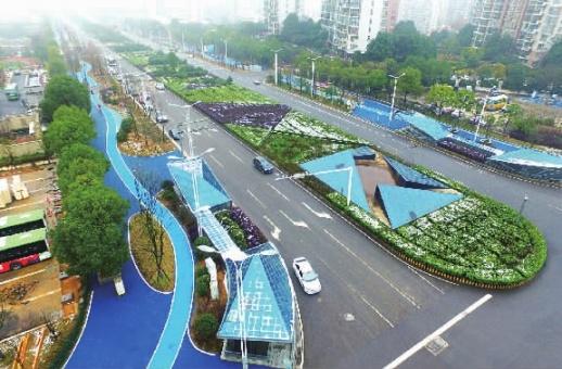 """开福区首个""""海绵城市""""示范项目亮相"""
