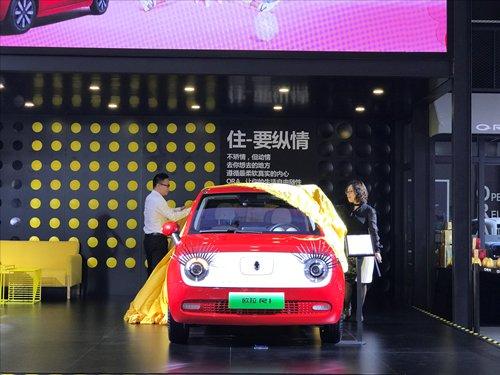 """女性专属车时代来临 欧拉R1女神版""""花样..."""
