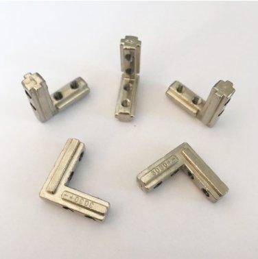 国标30四孔角槽锌合金角槽铝型材连接件