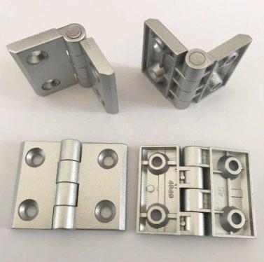 厂家直销锌合金4045合页孔42.5*30铝型材用合页