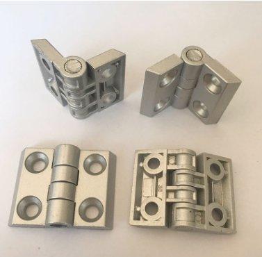 3030合页四孔孔距30*25金属锌合金合页铝型材配件 厂家直销
