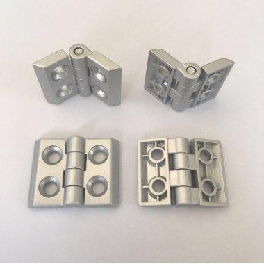 20四孔金属锌合金合页孔距14*20铝型材配件厂家直销合页