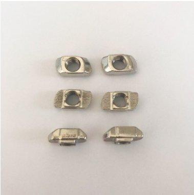 供應T型M8-40型鋅合金螺母批發歐標螺母