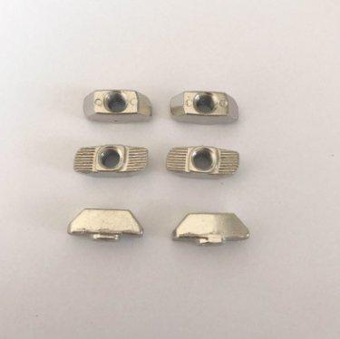 【供應T型TM6-40型螺母】鋅合金螺帽 訂購歐標螺母
