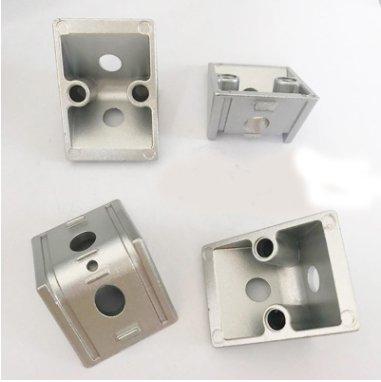 鋁型材配件加厚40鋅合金角碼角件角座L型材角連接件
