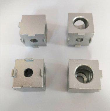 鋅合金30兩通直角連接件 二通拐角連接塊 工業鋁型材配件