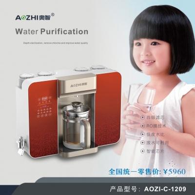 奥智(AOZI-C-1209)净水器净饮 养生 一体机 台面加热养生直饮机