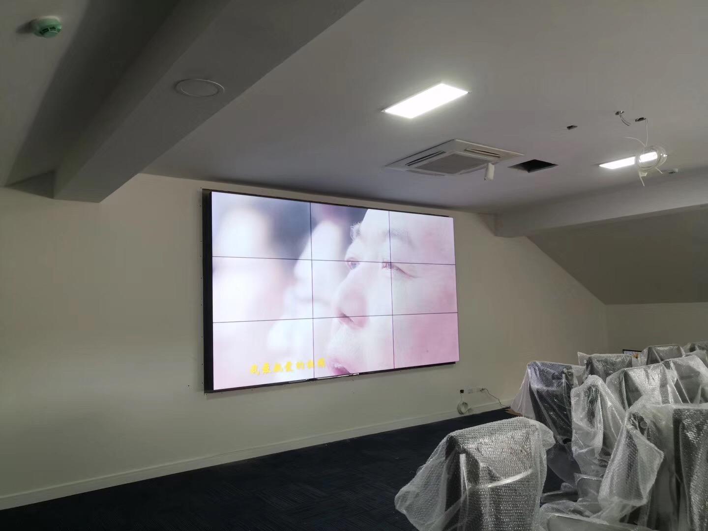 久屏显示46寸betway必威登录平台必威体育平台屏应用于南京师范大学