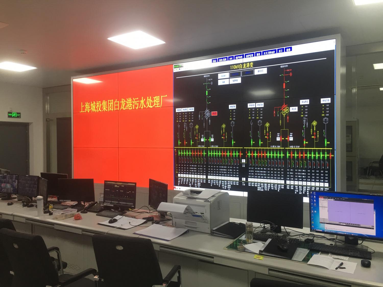 上海白龙港污水处理厂(亚洲最大)