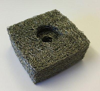 钢丝网垫减振器