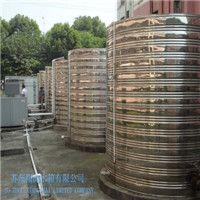 圆柱形不底平顶水箱