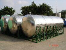 圆柱形两头圆水箱