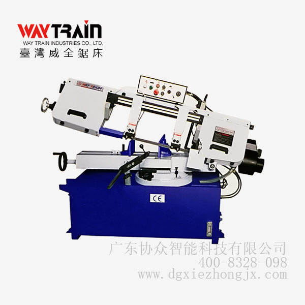 台湾锯床UE-918SSA_半自动带锯床实物图