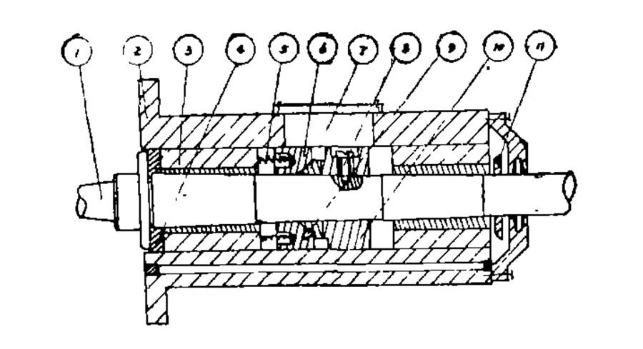 平面磨床磨头结构示意图