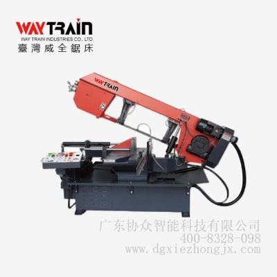 UE-331DSA 半自动角度带锯床|台湾威全锯床