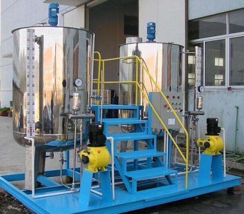 磷酸盐加药装置管路原理图