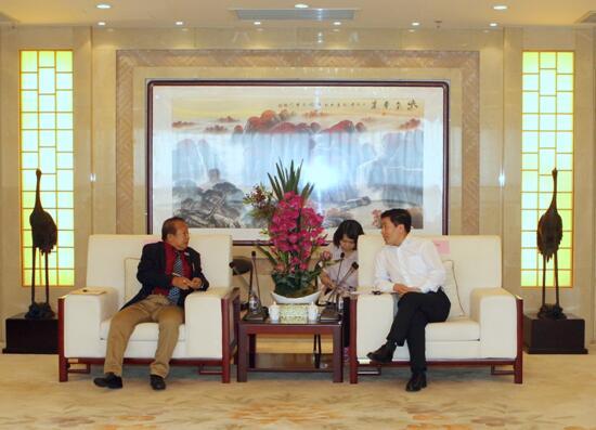 缅甸政商访问团到访中国有色集团