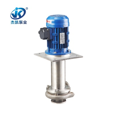 SUS304不锈钢立式泵 JKV-65SK-105V4-4 涂装行业专用不锈钢立式泵