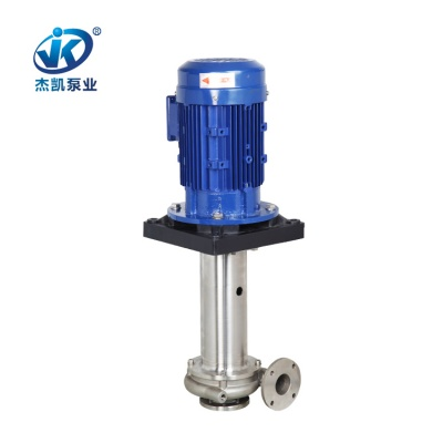 SUS316不锈钢立式泵 JKV-65SK-105V4-6 染整专用不锈钢立式泵