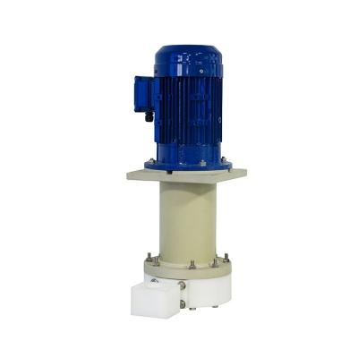 JKD-P-50SP-55VU-4 UPE喷砂立式泵 环保专用立式泵