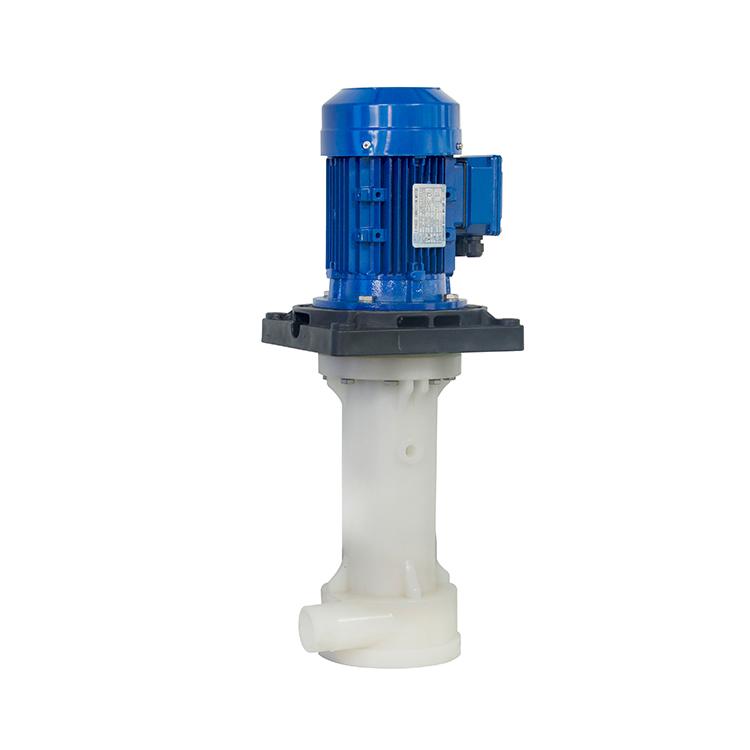JKT-40SK-55VP-4 PVDF立式泵 蚀刻专用化工立式泵