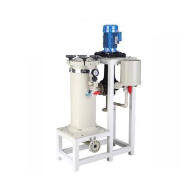 JKC-301 8FRPP化学镀镍过滤机 废气塔专用化学镀镍过滤机