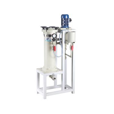 JKC-1004 FRPP化学镀镍过滤机 电镀专用化学镀镍过滤机