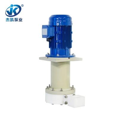 UPE化学液立式泵 JKD-P-40SP-25VU-4耐酸碱立式泵 去膜专用立式泵