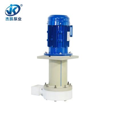 UPE化学液立式泵 JKD-P-40SP-35VU-4盐酸立式泵 蚀刻专用立式泵