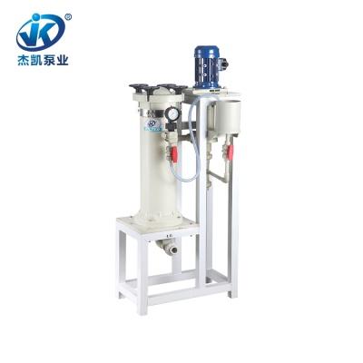 FRPP化学镀过滤机 JKC-1004硝酸过滤机 冶金专用过滤机厂家直销