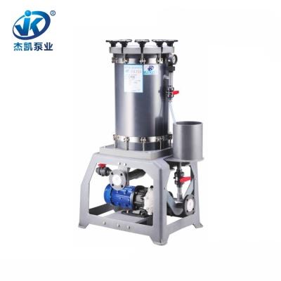 PVC铬酸过滤机 JKL-2004 塑胶电镀过滤机 化工专用铬酸过滤机