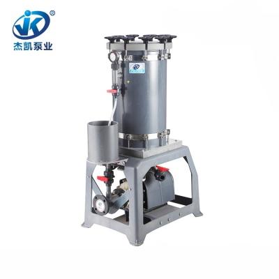 PVC铬酸过滤机 JKL-2018废水铬酸过滤机 环保行业专用过滤机