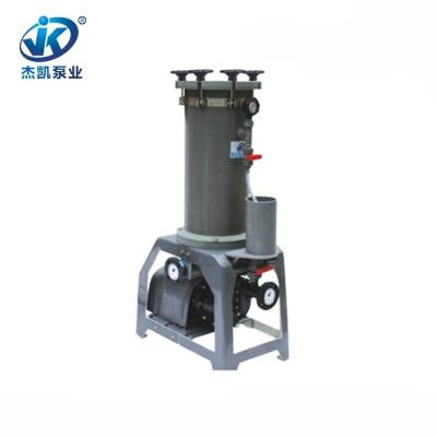 PVC铬酸过滤机 JKL-2008电镀液过滤机 电镀专用铬酸过滤机