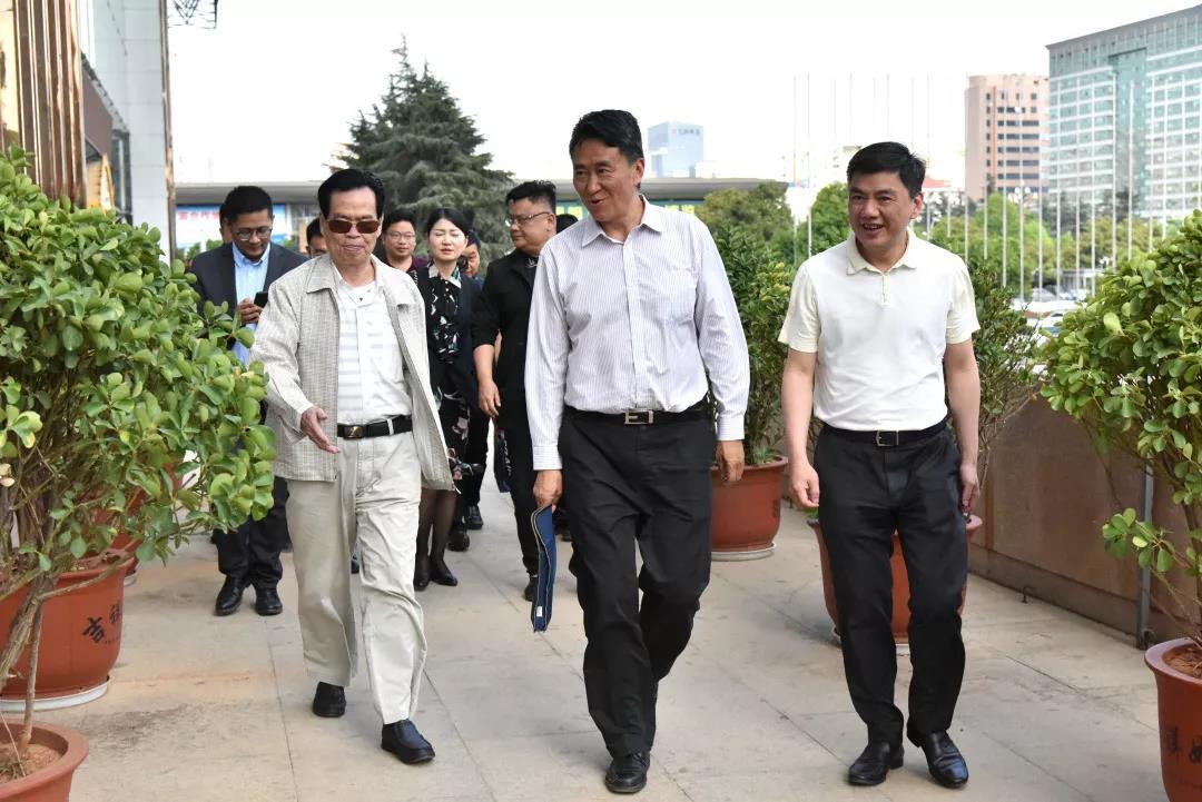 云南省委統戰部省工商聯領導到廣東商會調研
