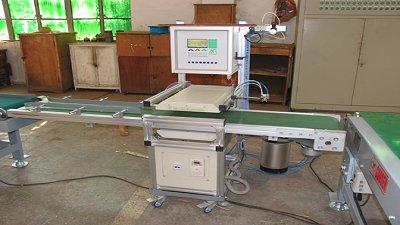 实木水分检测与分选系统