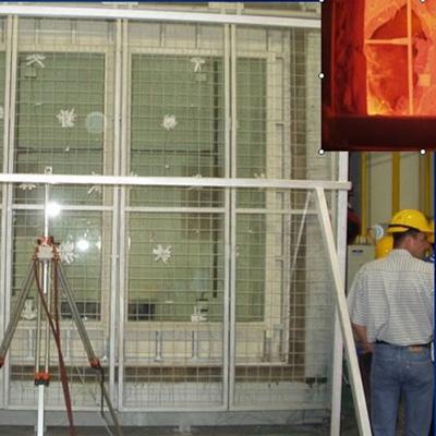 夾層防火玻璃