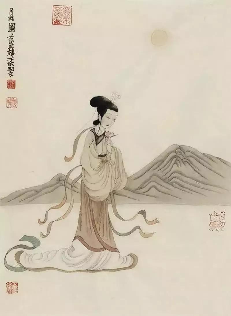 【趣品诗经·月出】——中国式的历史大画轴
