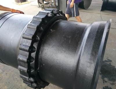 Anchored joint Ductile Iron Pipes